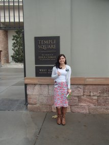 Temple Square..yay