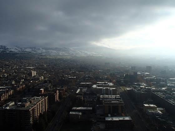 salt lak city mountains