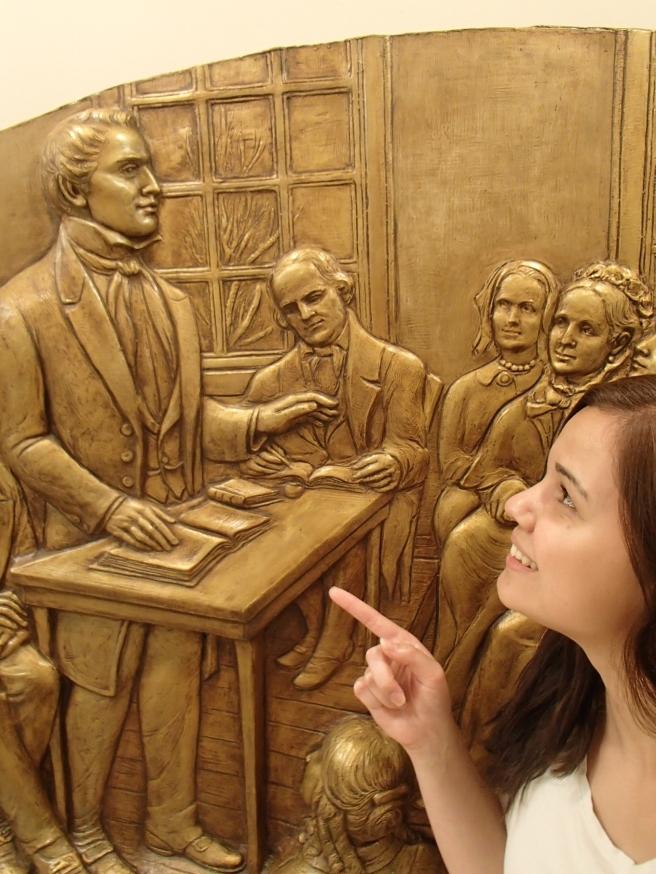 Joseph Smith teaching relief society