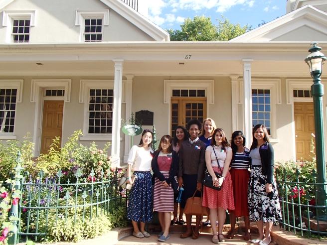 Sister Wong, Sister Rivas, Sister Rajah, Sister Taglavia, Sister Piutau, Sister Li and Sister Burke
