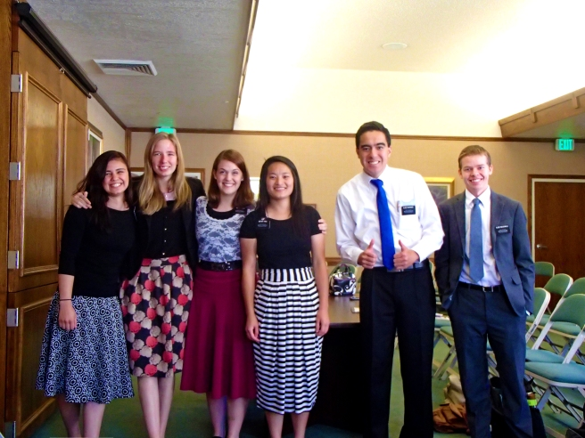 elder mcdonald, massaniah, sister thao, nazer, brown